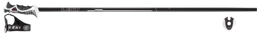 Sjezdové hole LEKI XEOS S, model 2016/17 délka 115 cm /white/silver