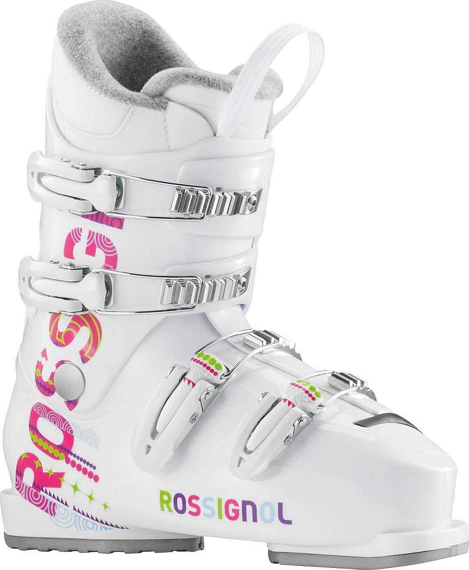 Sjezdové boty ROSSIGNOL FUN GIRL J4, model 2015/16 velikost 26.0 MP /white