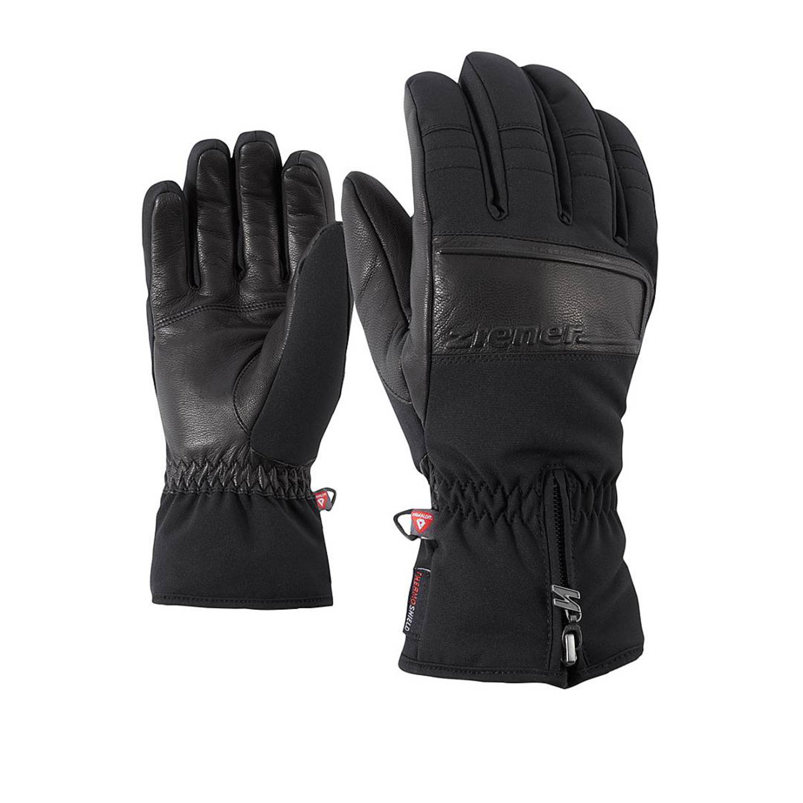 Lyžařské rukavice ZIENER GOLOSO  599bb53177